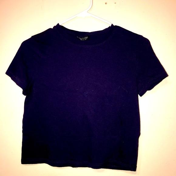 Top Shop Crop Tshirt